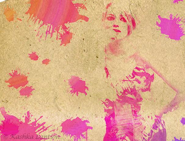 Watercolour effect: EmmaStone